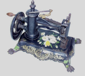 = Shaw & Clark Pawfoot Sewing Machine